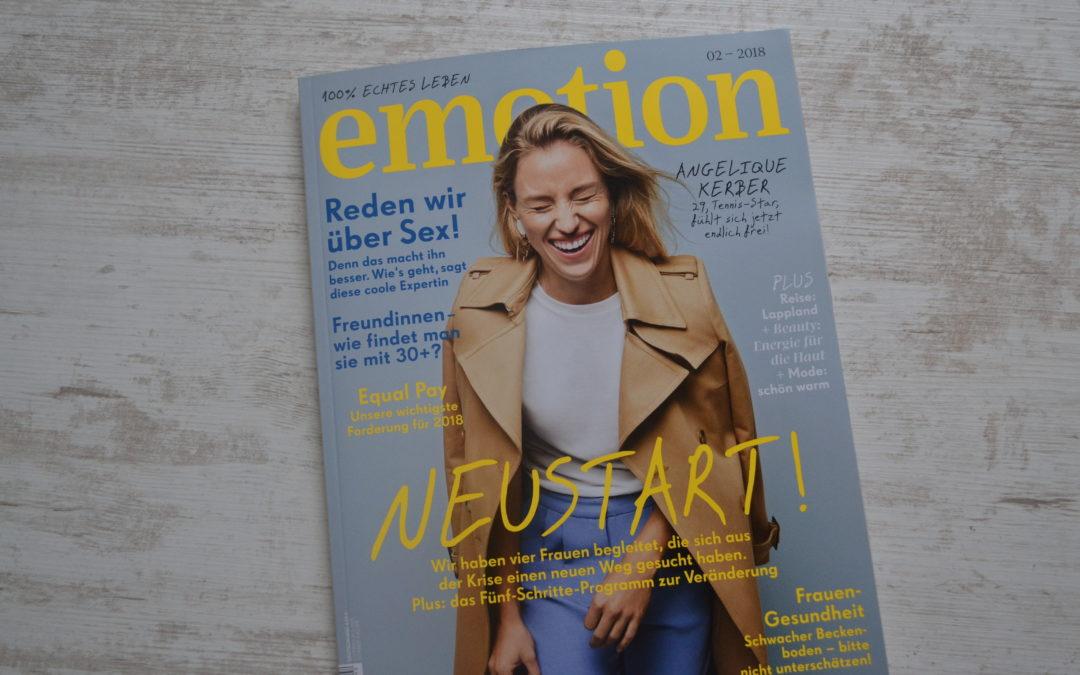 EMOTION – das Frauenmagazin mit 100% echtem Leben