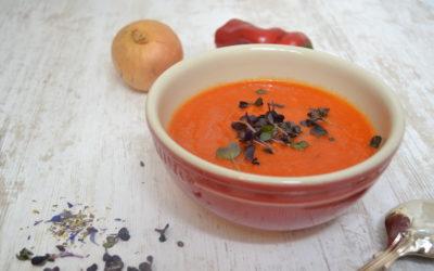 Tomaten-Paprika Suppe