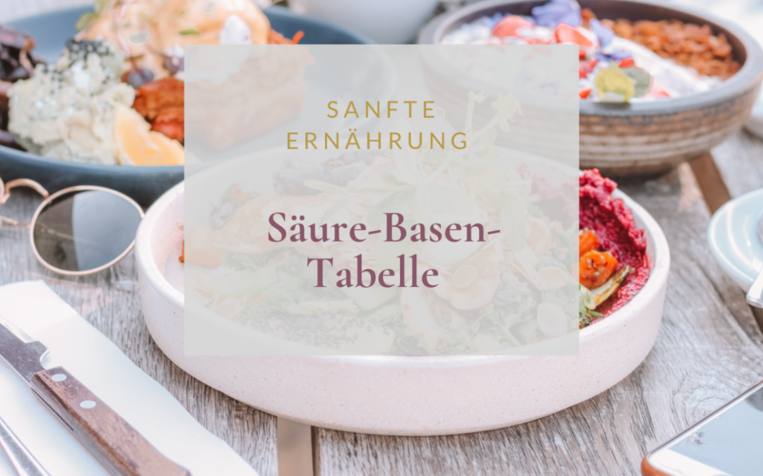 Säure-Basen-Tabelle zum Download