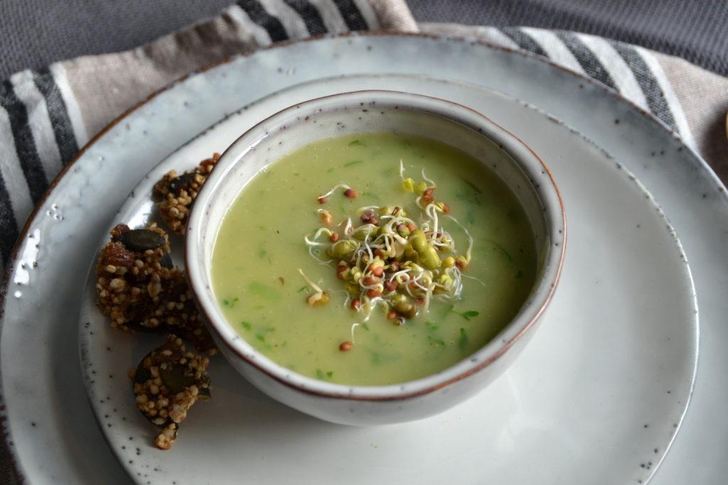 Basische Suppe Kräutersuppe