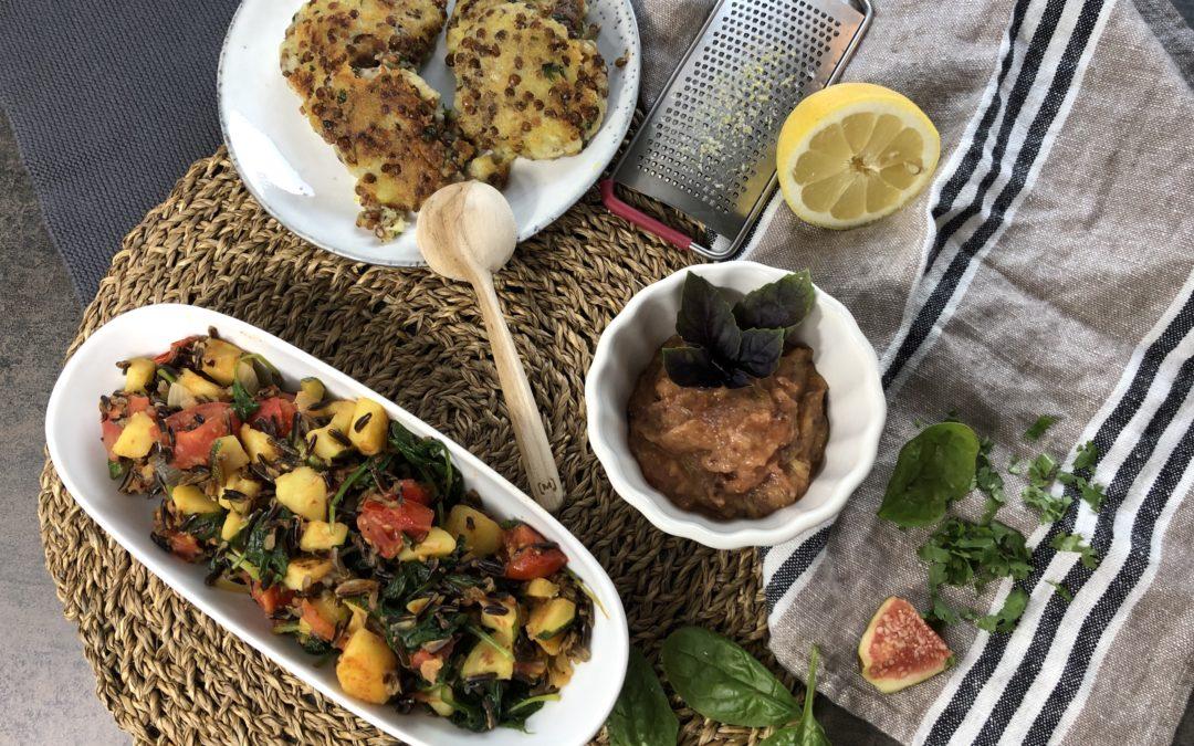 Basische Mezze für die Levante Küche
