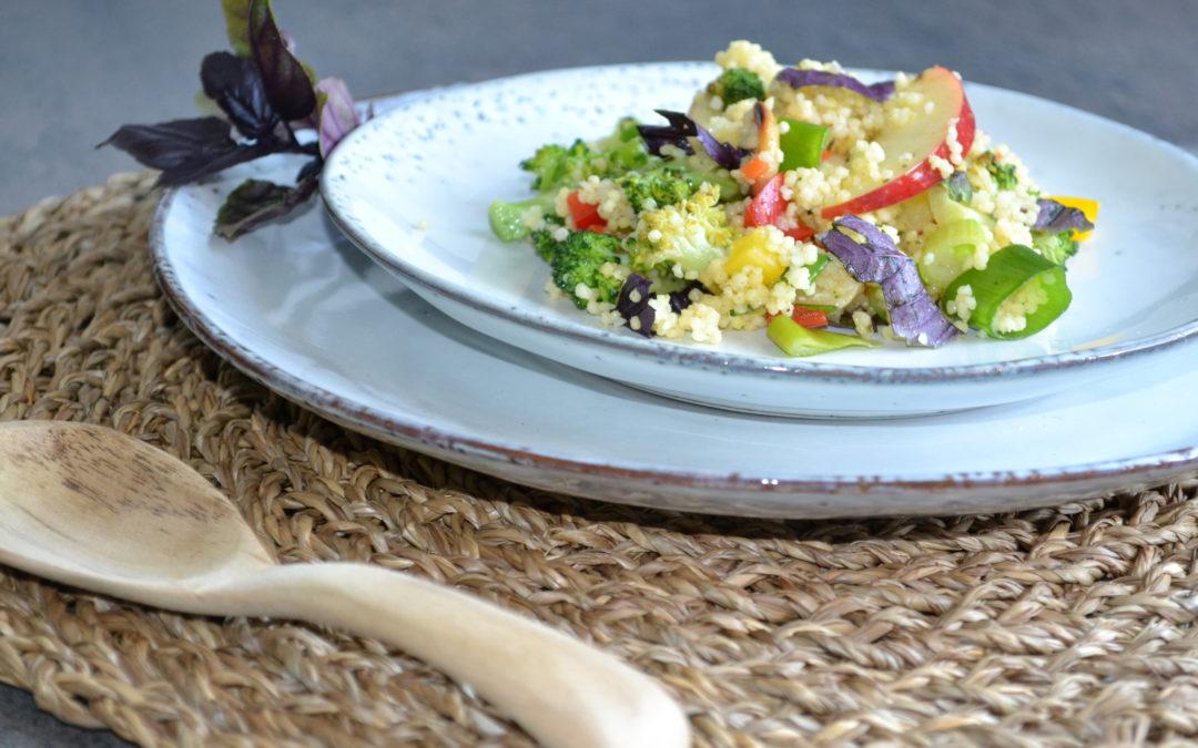 Gemüsesalat für die Basische Ernährung